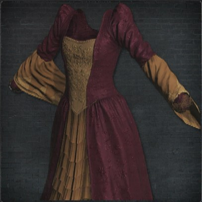 貴族のドレス