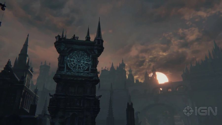 Bloodborne's Gorgeous, Gothic Environments - IGN First.mp4_000109921_