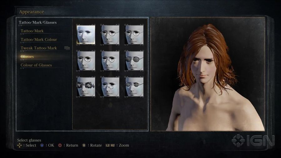 Bloodborne- Exploring its Vast Character Creator - IGN First.mp4_000043715_